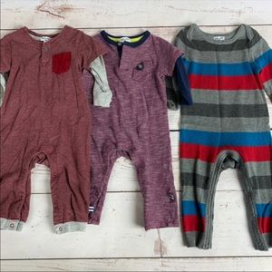 3 Splendid Boys One-Piece Outfits 6-9 Months